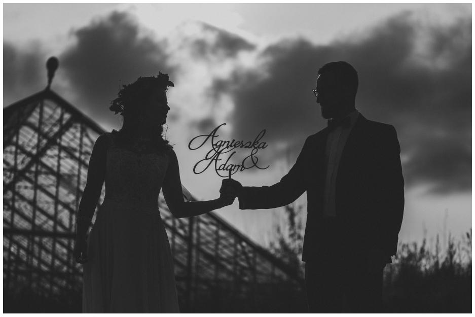 Agnieszka  & Adam │  plener w starej szklarni