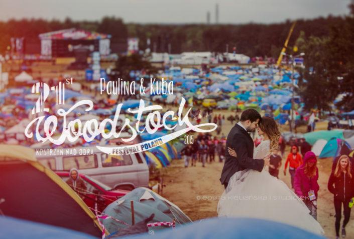 Plener ślubny na Woodstock-u – dlaczego nie ?